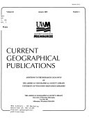 Current Geographical Publications