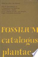 Fossilium Catalogus