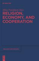 Religion  Economy  and Cooperation