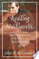 Reading Machiavelli Book PDF