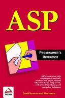 ASP 2 0 Programmer s Reference