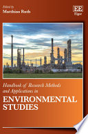Handbook of Research methods and Applications in Environmental Studies