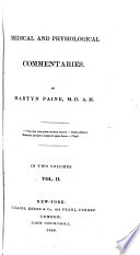 Medical and Physiological Commentaries