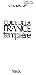 Guide de la France templière