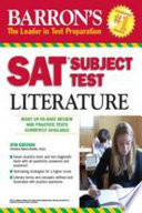Barron s SAT Subject Test in Literature
