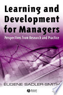 Learning and Development for Managers