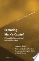 Exploring Marx s Capital