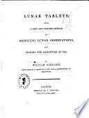 Lunar Tablets