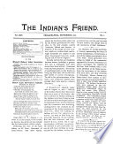 The Indian's Friend
