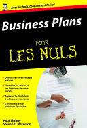 Les Business plans Pour les Nuls