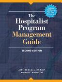 The Hospitalist Program Management Guide