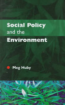 Social policy and the environment