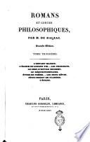 Romans et contes philosophiques