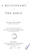 A historical     dictionary of the holy Bible