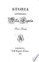 Storia letteraria della Liguria