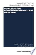 Vergleichende politikwissenschaftliche Methoden