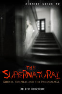 download ebook a brief guide to the supernatural pdf epub
