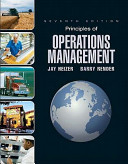 Principles of Operations Management and Student CD   DVD Value Package  Includes POM Qm for Windows V  3