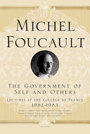 The Government of Self and Others