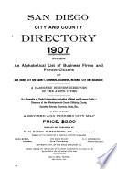 Dana Burks  San Diego City and County Directory