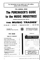 The Purchaser s Guide to the Music Industries