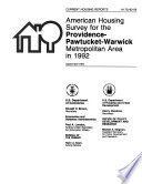 Current Housing Reports : ...
