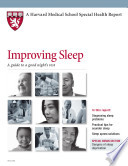 Improving Sleep A Guide To A Good Night S Rest