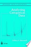 Analyzing Categorical Data book