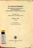 J  C  Poggendorff biographisch literarisches Handw  rterbuch der exakten Naturwissenschaften