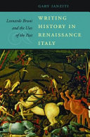 Writing History in Renaissance Italy