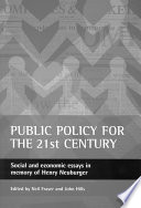 Public Policy for the 21st Century