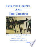 For The Gospel and The Church
