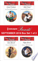 Harlequin Presents September 2018   Box Set 1 of 2
