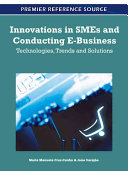 Innovations in SMEs and Conducting E business