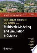 Multiscale Modeling and Simulation in Science