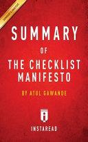 download ebook summary of the checklist manifesto pdf epub