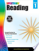 Spectrum Reading Workbook  Grade 1