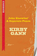 John Knowles  a Separate Peace