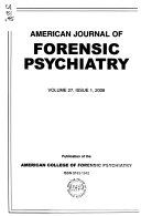 The American Journal of Forensic Psychiatry