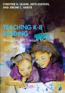 Teaching K-8 Reading Book