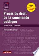 Pr Cis Du Droit De La Commande Publique