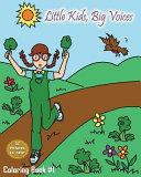 Little Kids  Big Voices Coloring Book  1