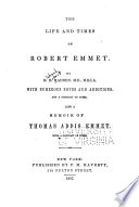 The Life and Times of Robert Emmet Book PDF