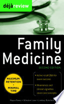 Deja Review Family Medicine  2nd Edition