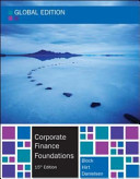 Corporate Finance Foundations - Global Edition