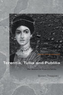 Terentia, Tullia and Publilia