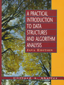 A Practical Introduction to Data Structures and Algorithm Analysis