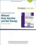 Nutrition Concepts Online for Williams  Basic Nutrition and Diet Therapy  User Guide and Access Code