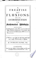 A Treatise of Fluxions