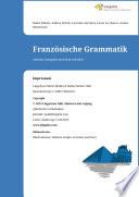 Franz  sische Grammatik